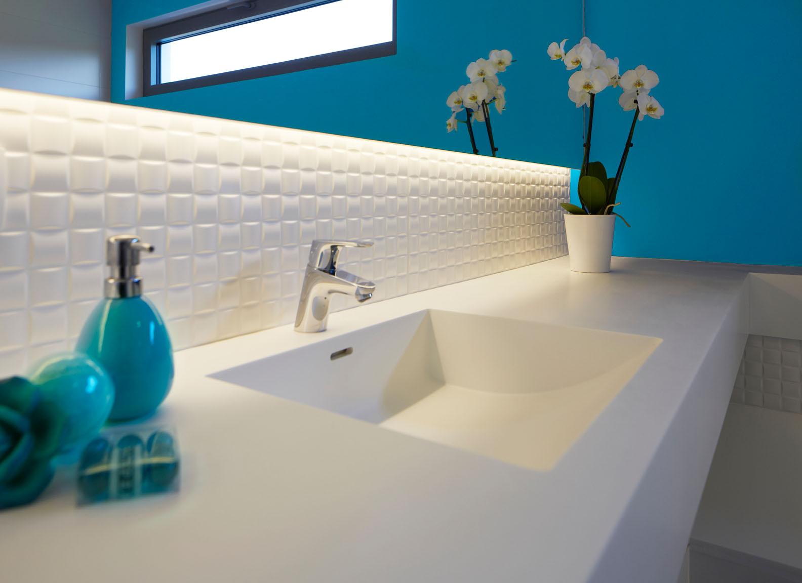Corian Badkamer Wanden : Vdidesign badkamer
